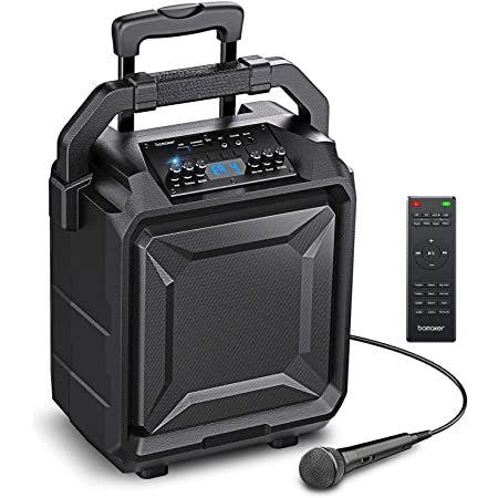 Bomaker PA 01   tragbare 500W PA Anlage mit Mikrofon & Fernbedienung für 72,99€ (statt 140€)