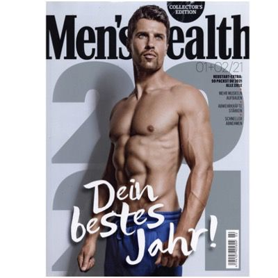 2 Ausgaben Mens Health für direkt 6€ – automatisches Ende, keine Kündigung notwendig