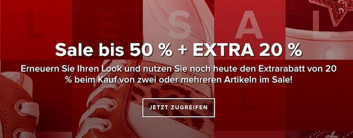 50% Sale bei Geox 2 Artikel kaufen + 20 Extra Rabatt   z.B. Geox Aerantis Sneaker für 67,50€ (statt 90€)