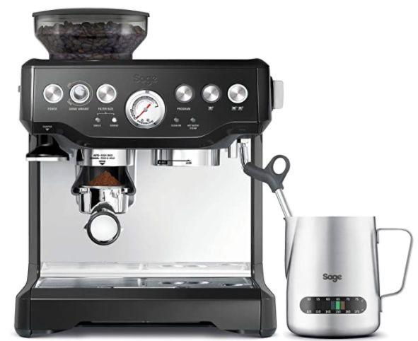 Sage Appliances SES875 the Barista Express Siebträgermaschine für 349,60€ (statt 599€)