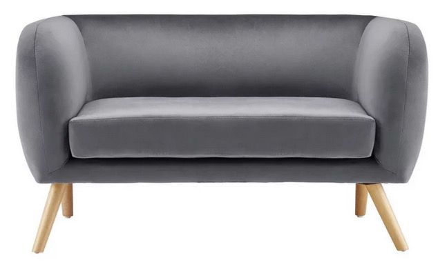 Bessagi Home Sofa Bruno mit Samtbezug in 2 Farben je ab 150,52€ (statt 229€)