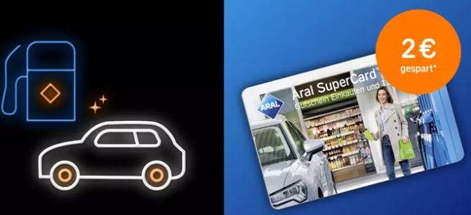42€ Aral Supercard für 34€ oder 100€ Supercard für 85€   auch für Kraftstoffe!