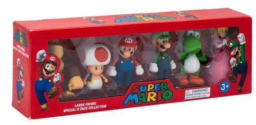 6er Pack Super Mario Figuren für 31,99€ (statt 39€)