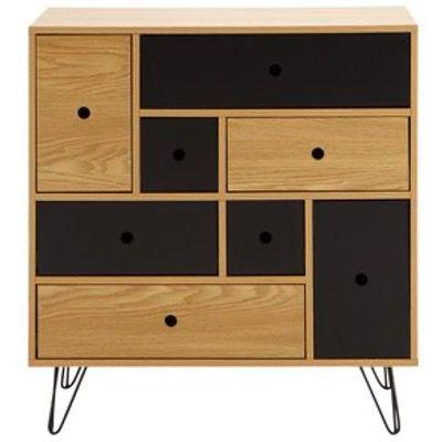 Modern Living Kommode aus Holzdekor für 127,25€ (statt 169€)