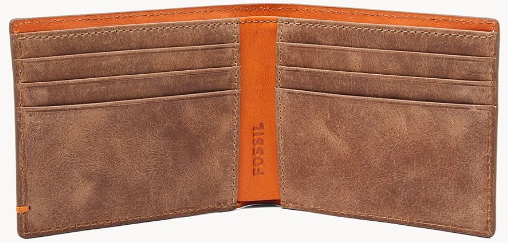 Fossil Foster Bifold Leder Geldbörse für 23,80€ (statt 42€)