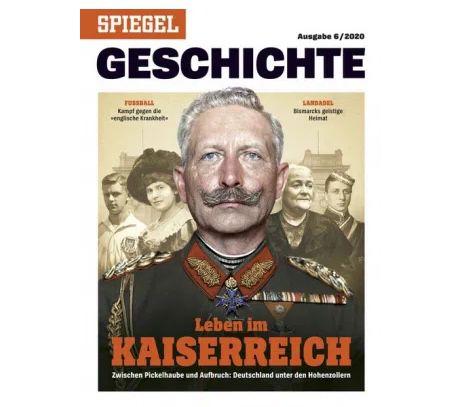3 Ausgaben Spiegel Geschichte für 29,70€ + Prämie: 30€ Gutschein