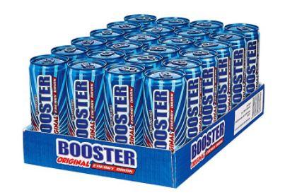 96er Pack Booster Energy Drink Original je 0,33 Liter für 76,91€ inkl. 24€ Pfand