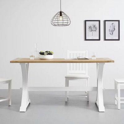 Bessagi Camden Esstisch aus Massivholz 160x80cm für 251,28€ (statt 299€)