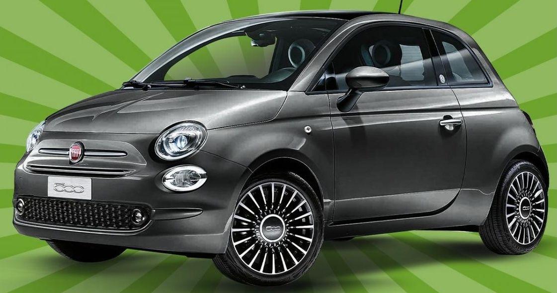 Fiat 500 Lounge 1.0 GSE Hybrid für 55€ mtl.   LF: 0.33