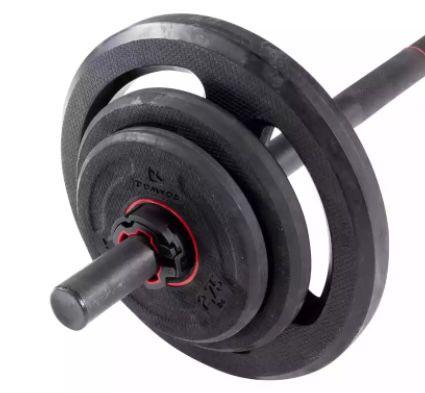 Decathlon Langhantel Set inkl. 20kg Gewichte für 73,98€