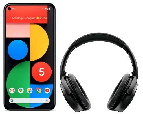 Google Pixel 5 + Bose QC 35 II für 99€ mit Telekom Allnet Flat inkl. 10GB LTE für 29,99€