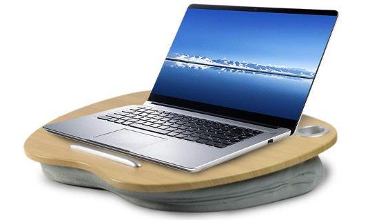 VLOXO Laptopkissen mit Kabelloch & Anti Rutsch Streifen bis 14 Zoll Notebooks für 19,99€ (statt 34€)