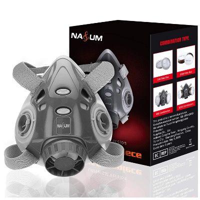 NASUM Schutzmaske ohne Filter aus hochwertiger Silikon Mischung für 6,99€ (statt 10€)