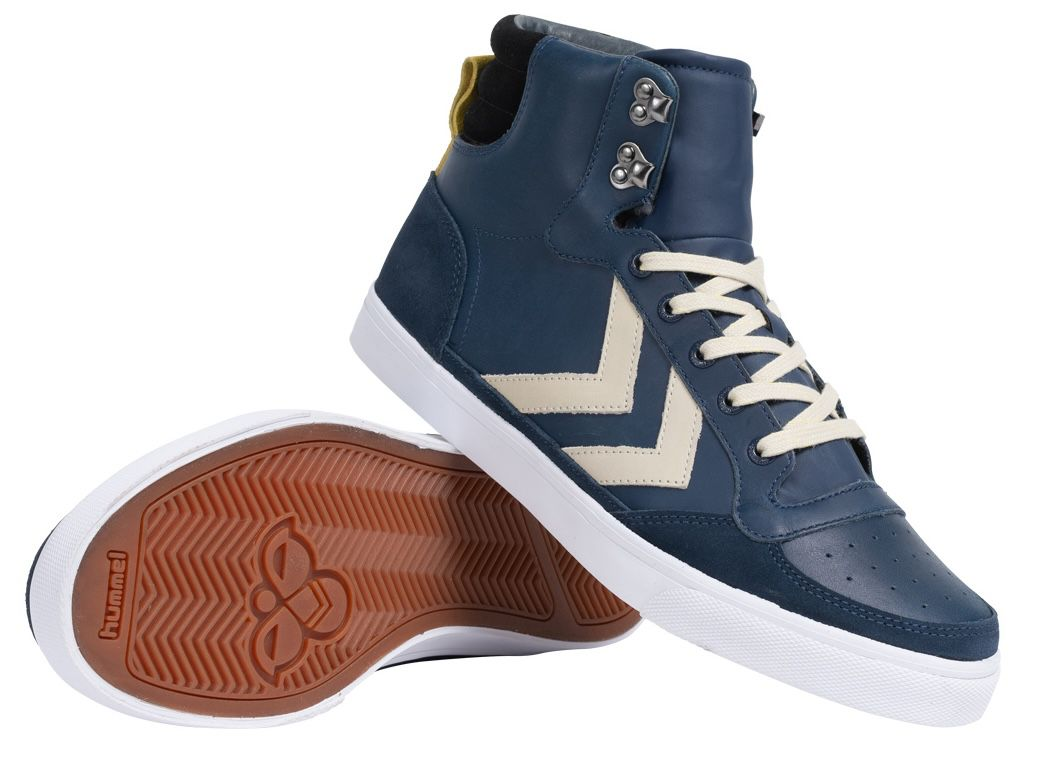 hummel Stadil Winter Leder Sneaker in 4 Farben bis Größe 46 für 30,04€ (statt 55€)