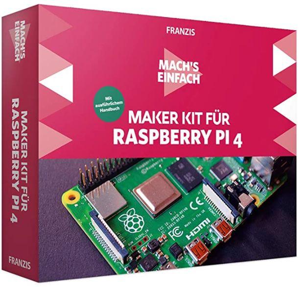 Franzis Maker Kit für Raspberry Pi 4 für 21,97€ (statt 51€)