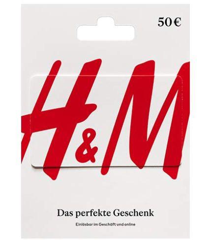 50€ H&M Geschenkkarte für 42,50€