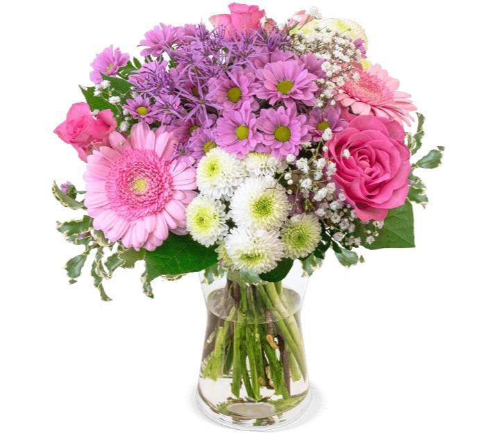 Last Minute Valentinstag (bis 11 Uhr): Blumenstrauß 1000 Küsse für 22,98€