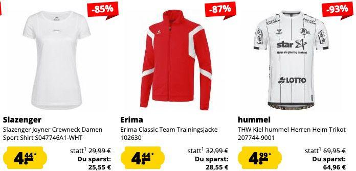 Schnell! 🔥 SportSpar Restgrößen Sale bereits ab nur 2,22€ + 5€ Gutschein ab 60€