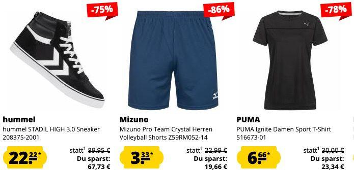 Sportspar Valentins Deal mit 14% Extra Rabatt auf den günstigstens Artikel im Warenkorb