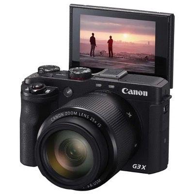 Canon PowerShot G3 X mit Ultra-Weitwinkelobjektiv (20,2 MP, 25-fach optischer Zoom, LCD-Touchscreen) für 399€ (statt 595€)