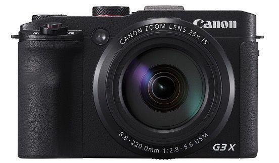 Canon PowerShot G3 X mit Ultra Weitwinkelobjektiv (20,2 MP, 25 fach optischer Zoom, LCD Touchscreen) für 399€ (statt 595€)
