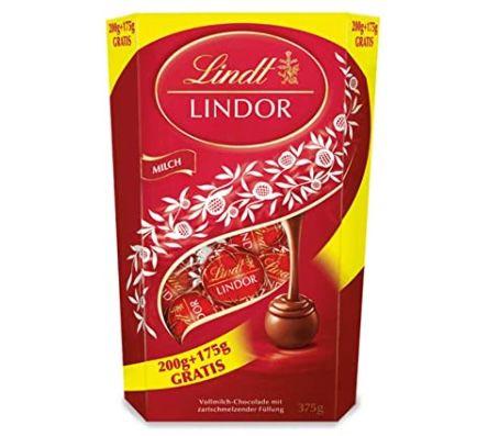 1,8kg Lindt Lindor Schokoladenkugeln Vollmilch oder Mischung für 23,99€