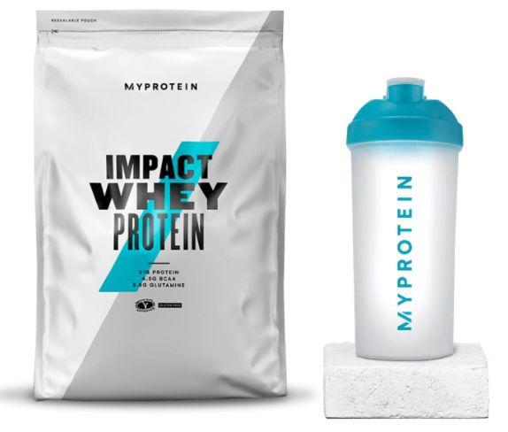 1kg Impact Whey Protein + Shaker für 11,99€ (statt 16€)