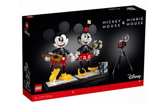 LEGO Disney 43179 Micky Maus und Minnie Maus für nur 164,99€ (statt 180€)