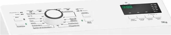 Bauknecht WMT EcoStar 732 Di Toplader mit 7kg für 369€ (statt 459€)