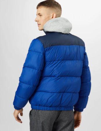 Tommy Jeans Corp Puffa Daunenjacke in Dunkelblau für 106€(statt 128€)