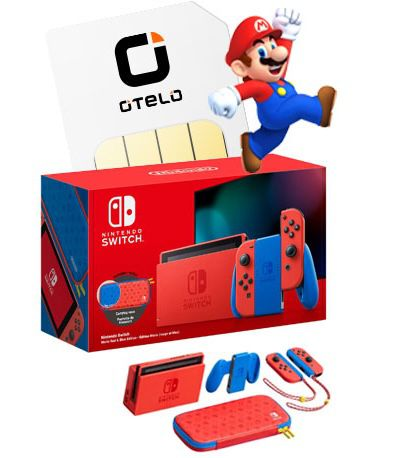 Nintendo Switch Mario Red & Blue Edition (Limited) + Vodafone Allnet Flat + 10GB LTE für 19,99€ mtl.