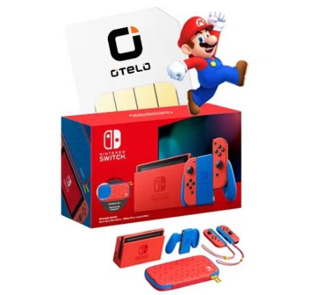 Nintendo Switch Mario Red & Blue Edition (Limited) + Vodafone Allnet-Flat + 10GB LTE für 19,99€ mtl.