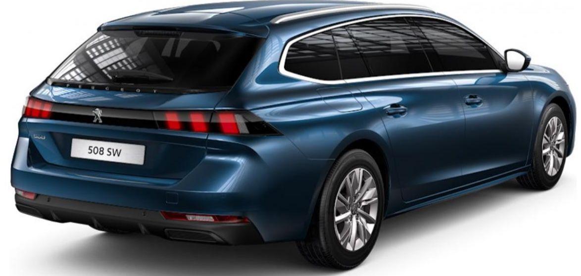 Gewerbe: Peugeot 508 SW Active PureTech 130 mit 131 PS für 107,66€ mtl. netto