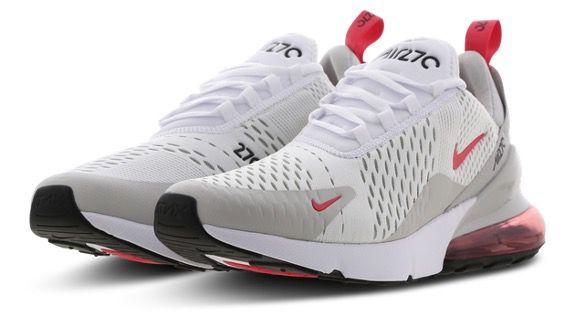 Nike Air Max 270 Herren Sneaker in Weiss Rot für 119,99€ (statt 150€)