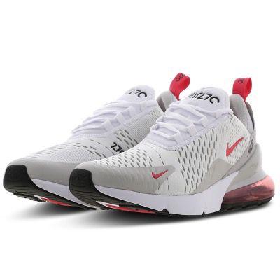 Nike Air Max 270 Herren Sneaker in Weiss-Rot für 89,99€ (statt 130€)