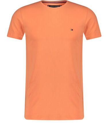 Tommy Hilfiger Herren Slim Fit T Shirt aus Bio Baumwolle für je 18,92€ (statt 29€) oder 3 für 47,56€ (statt 87€)