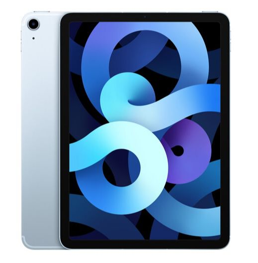 Apple iPad Air (2020) 64GB WiFi + 4G in Sky-Blue für 643,13€ (statt 724€)