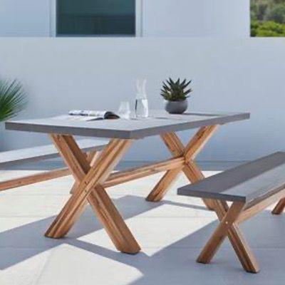 Bessagi Garden Gartenbank Frederica für 139,30€ (statt 199€)   Tisch für 279,30€ (statt 399€)