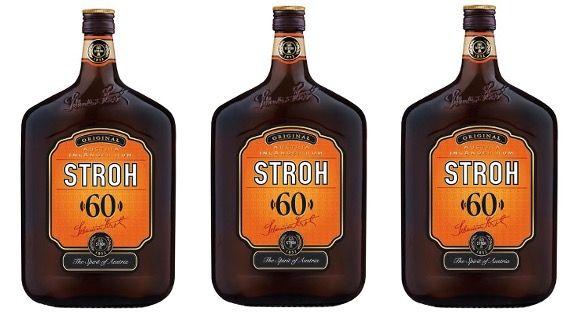 3 Flaschen Stroh Original 60% (je 1 Liter) für 48,33€ (statt 64€)