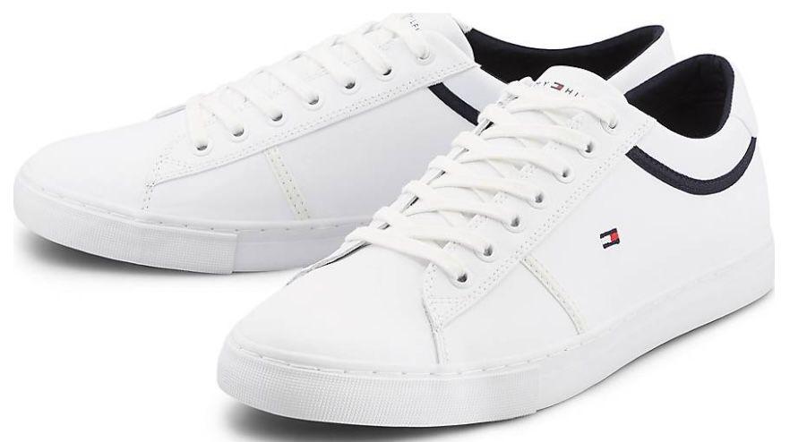 Tommy Hilfiger Essential Colour Blocked Leder Sneaker für 54,97€ (statt 78€)   nur 41, 42, 44