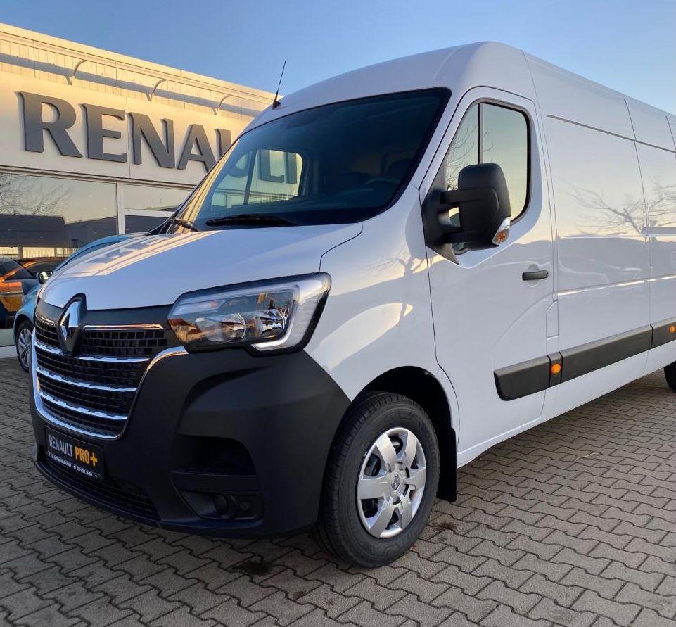 Gewerbe: Renault Master L2H2 3,3t mit 135 PS für 66,20€ mtl. netto – LF: 0.20