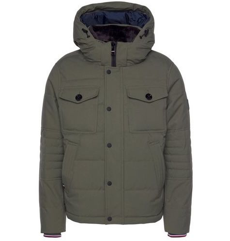 Tommy Hilfiger Removable Fur Hooded Bomber Jacke für 176,34€ (statt 215€)   nur 2XL & 3XL