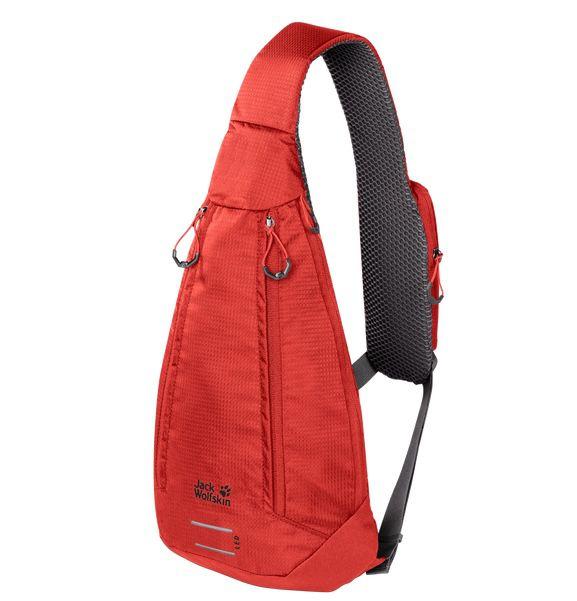 Jack Wolfskin Delta Bag Air in Lava Red für 27,90€ (statt 44€)