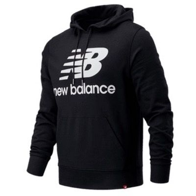 New Balance Essentials Stacked Logo Hoody + Jogger bis 2XL für 64,90€ (statt 110€)