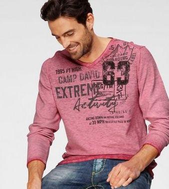 OTTO: Mindestens 20% Rabatt auf Camp David + 20% Gutschein   z.B. Print Shirt mit Rundhals ab 14,39€(statt 25€)