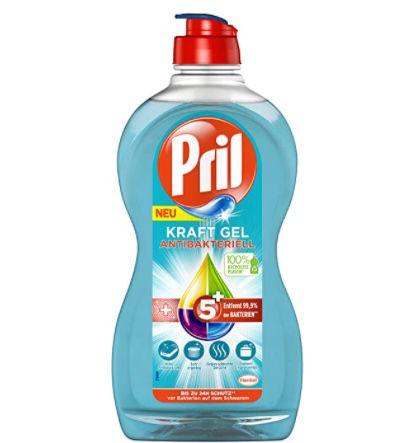 5er Pack Pril 5+ Kraft Gel antibakterielles Handgeschirrspülmittel ab 2,20€