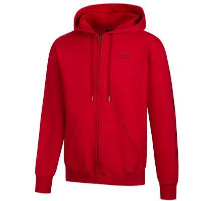 Oakley Logo Herren Kapuzen Sweatjacke in Rot oder Schwarz für 26,94€ (statt 40€) – S & M