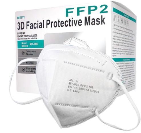 50er Pack FFP2-Schutzmasken für 24,90€ oder 100er Pack für 44,90€