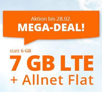 Endet heute: Sim.de o2 Allnet-Flat mit 7GB LTE für 7,77€ mtl. – nur 3 Monate Laufzeit