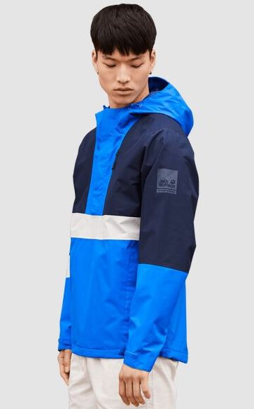 Jack Wolfskin 365 Booster Hardshell Jacke in Azure Blue für 87,90€ (statt 111€)